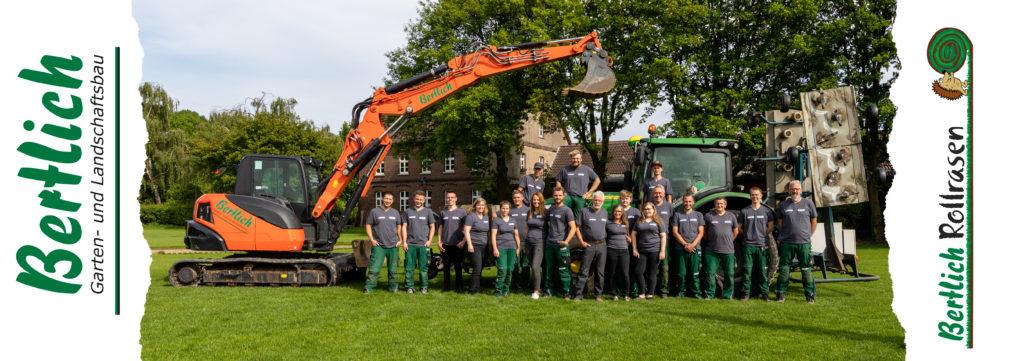Garten- und Landschaftsbau Bertlich - Das Team